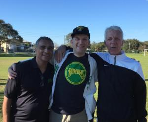 Farrukh Quraishi introduced me to Thomas Rongen at the Rowdies open tryouts on January 25, 2015